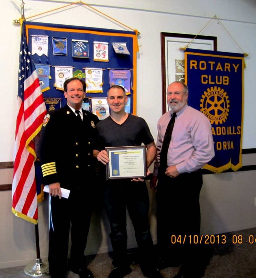 EDH Rotary FF of the Year